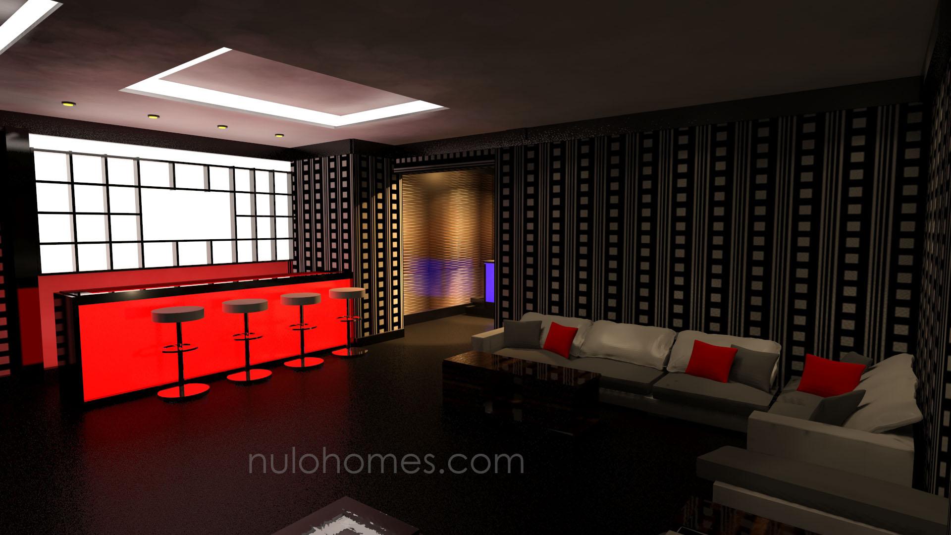 Uptown night club bar wuse 2 abuja nulo for Main room interior design